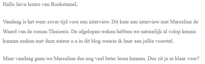Bookstamel - interview
