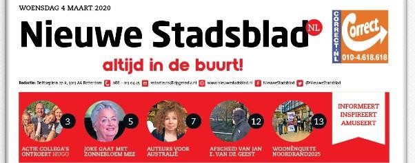 Nieuwe stadsblad Kop