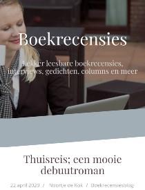 websitemaat Boekrecensiesblog - Thuisreis